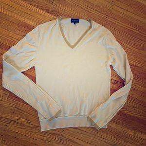 Burberry tan sweater